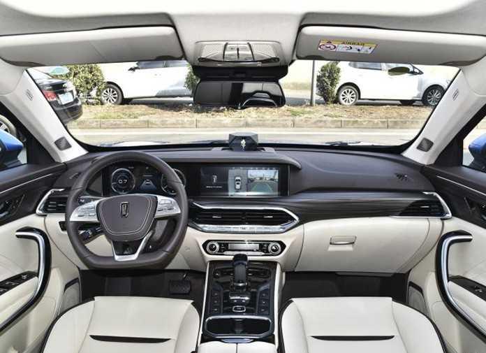 BESTUNE T77 interior